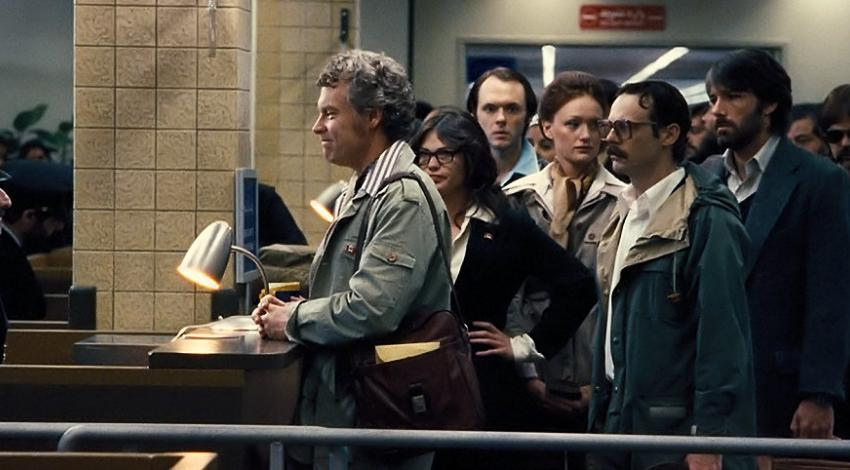 "Ben Affleck, Tate Donovan, Rory Cochrane, Clea DuVall, Scoot McNairy, Joe Stafford, and Kerry Bishé | ""Argo"" (2012)"