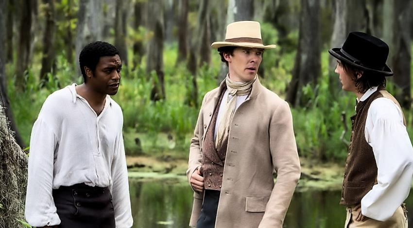 "Chiwetel Ejiofor, Benedict Cumberbatch, Paul Dano | ""12 Years a Slave"" (2013)"