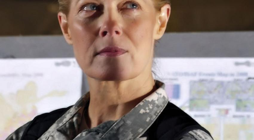 "Barbara Niven as Captain Chandler | ""Army 360"" (2010)"