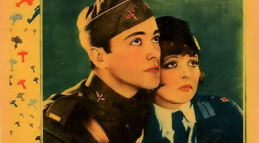 "Clara Bow, Charles 'Buddy' Rogers | ""Wings"" (1927)"