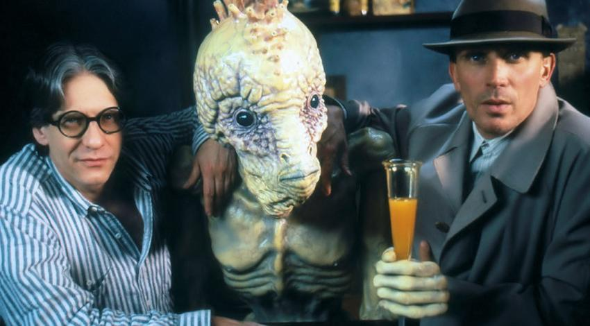"David Cronenberg, Peter Weller | ""Naked Lunch"" (1991)"
