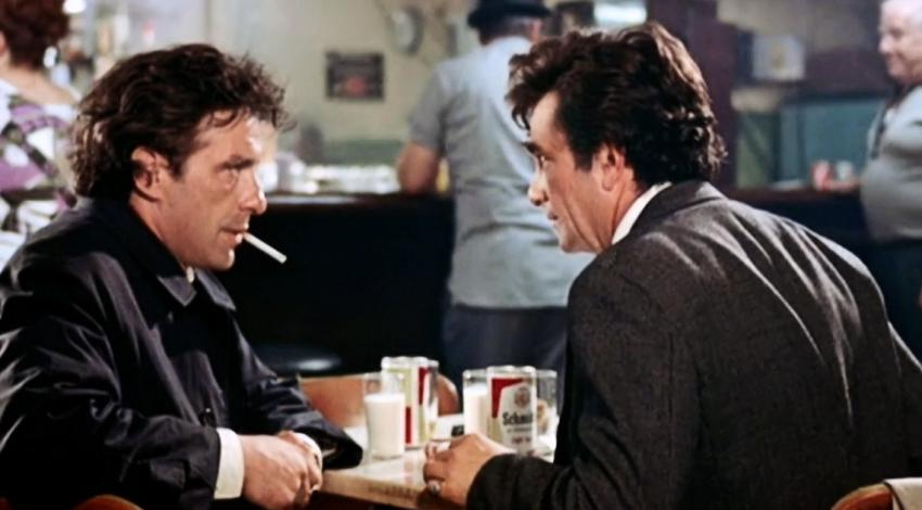 "John Cassavetes, Peter Falk | ""Mikey and Nicky"" (1976)"