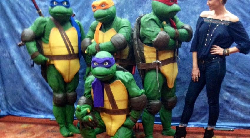 "Judith Hoag | ""Teenage Mutant Ninja Turtles: Out of the Shadows"" (2016)"