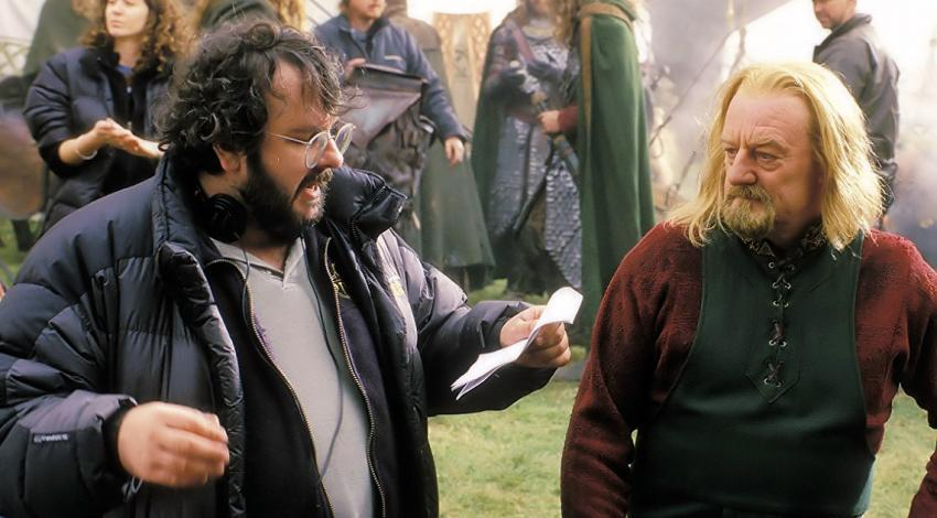 "Peter Jackson, Bernard Hill | ""The Lord of the Rings: The Return of the King"" (2003)"