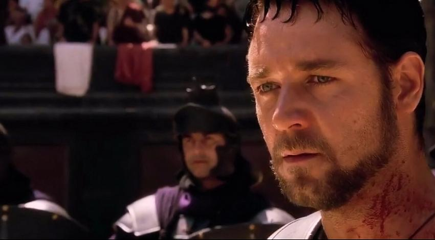 "Russell Crowe | ""Gladiator"" (2000) *"