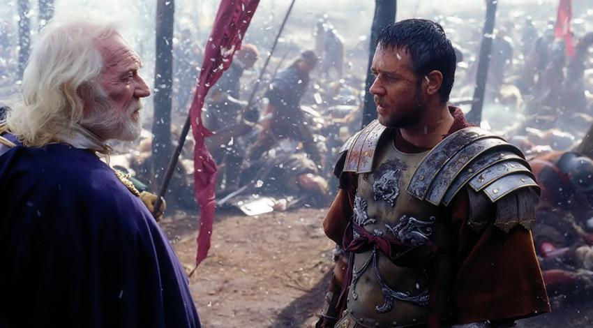 "Russell Crowe, Richard Harris | ""Gladiator"" (2000) *"