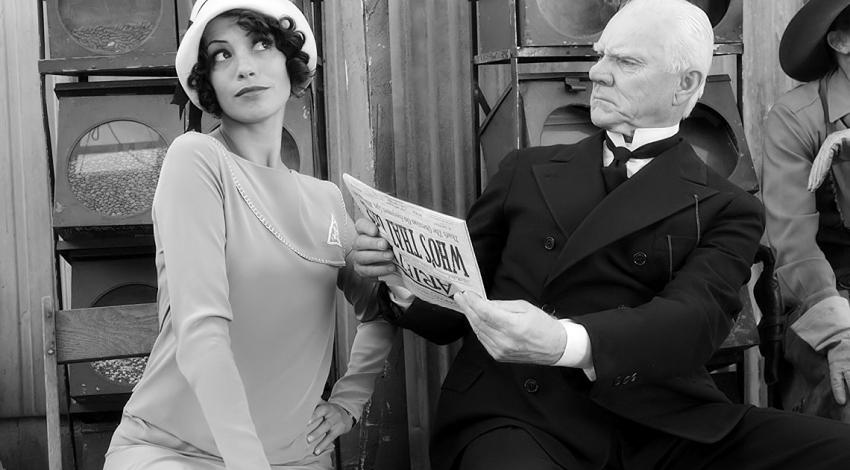 "Malcolm McDowell, Bérénice Bejo | ""The Artist"" (2011) *"