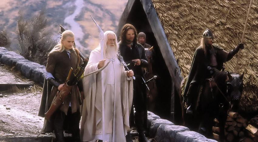 "Viggo Mortensen, Ian McKellen, Orlando Bloom | ""The Lord of the Rings: The Return of the King"" (2003)"