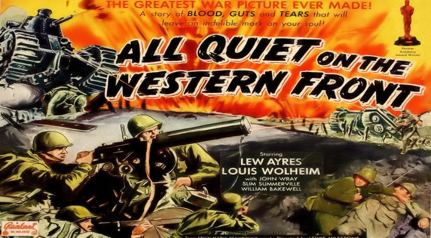 """All Quiet on the Western Front"" (1930)"