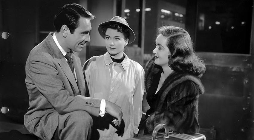 "Bette Davis, Anne Baxter, Gary Merrill | ""All About Eve"" (1950) *"
