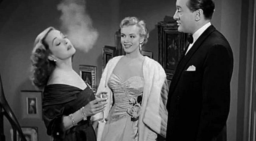 "Bette Davis, Marilyn Monroe, George Sanders | ""All About Eve"" (1950)"