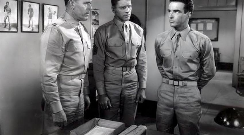 "Burt Lancaster, Montgomery Clift, Philip Ober | ""From Here to Eternity"" (1953)"