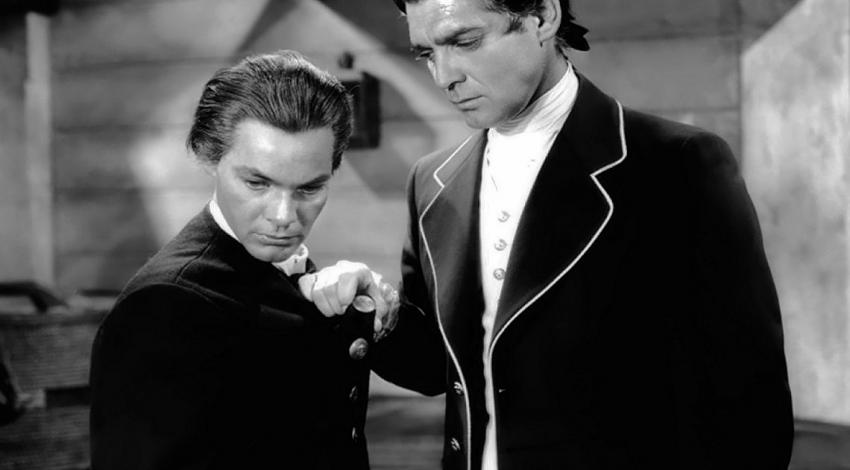 "Clark Gable, Eddie Quillan | ""Mutiny on the Bounty"" (1935)"