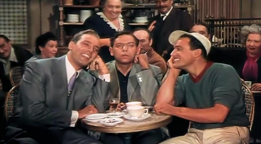 "Georges Guétary, Oscar Levant, Gene Kelly | ""An American in Paris"" (1951)"