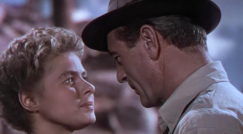 "Gary Cooper, Ingrid Bergman | ""For Whom the Bell Tolls"" (1943)"