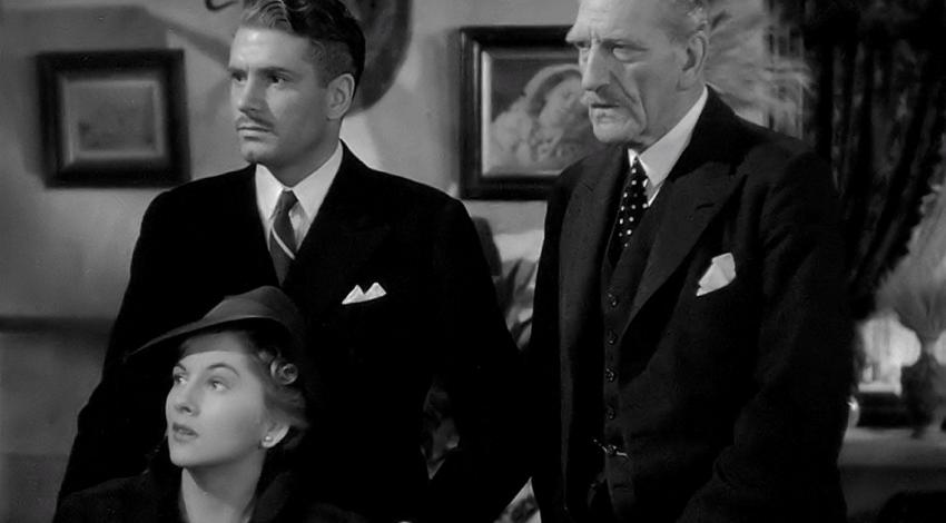 "Joan Fontaine, Laurence Olivier, C. Aubrey Smith | ""Rebecca"" (1940)"