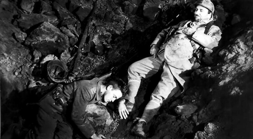 "Lew Ayers, Raymond Griffith | ""All Quiet on the Western Front"" (1930)"