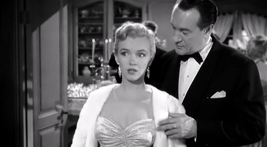 "Marilyn Monroe, George Sanders | ""All About Eve"" (1950)"