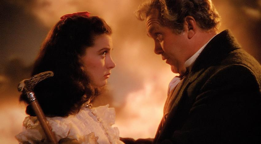 "Vivien Leigh, Thomas Mitchell | ""Gone with the Wind"" (1939) *"