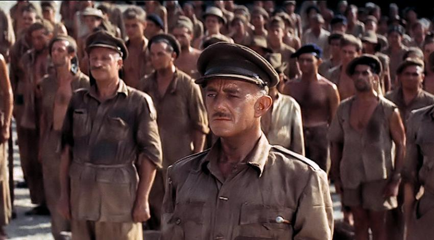"Alec Guinness, James Donald | ""The Bridge on the River Kwai"" (1957)"
