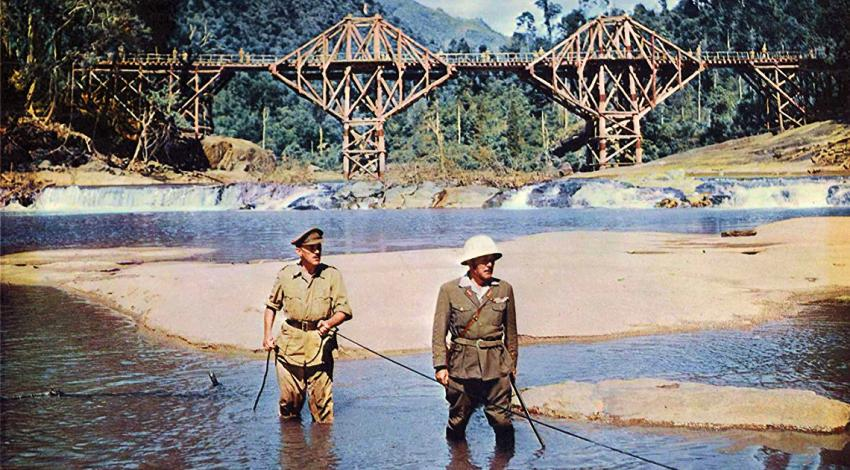 "Alec Guinness, Sessue Hayakawa | ""The Bridge on the River Kwai"" (1957) *"
