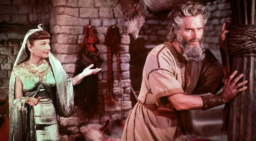 "Anne Baxter, Charlton Heston | ""The Ten Commandments"" (1956)"