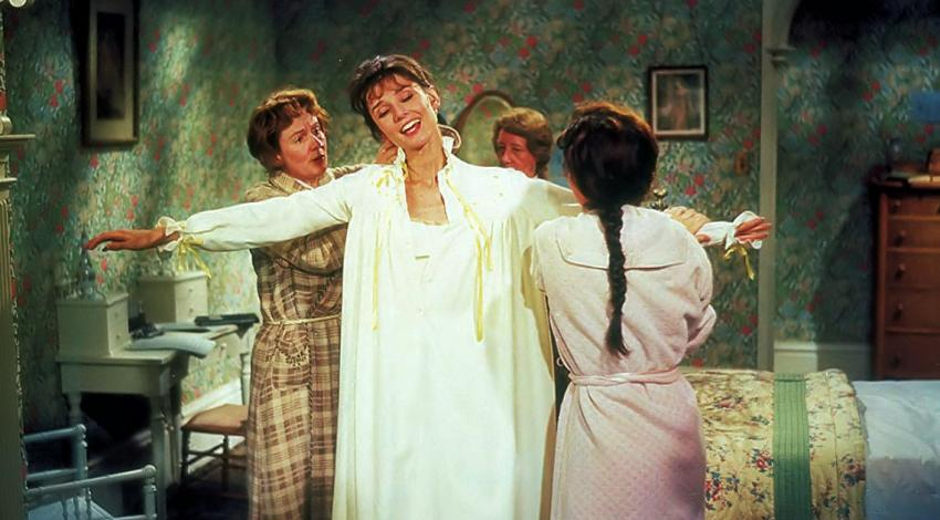 "Audrey Hepburn, Lois Battle, Dinah Anne Rogers, Mona Washbourne | ""My Fair Lady"" (1964) *"
