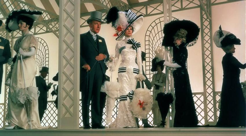 "Audrey Hepburn, Rex Harrison, Wilfrid Hyde-White | ""My Fair Lady"" (1964) *"