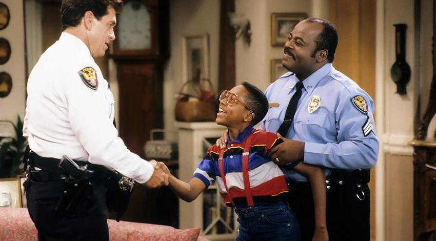 "Barry  Jenner, Jaleel White, Reginald VelJohnson | ""Family Matters"" (1989) **"