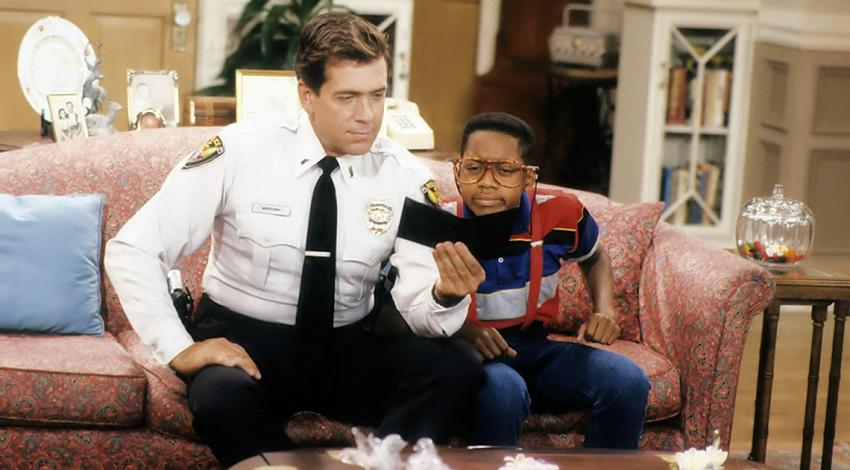 "Barry  Jenner, Jaleel White | ""Family Matters"" (1989) **"