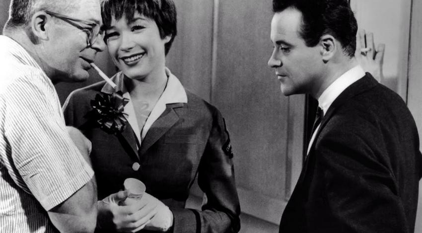 "Billy Wilder, Shirley MacLaine, Jack Lemmon | ""The Apartment"" (1960)"