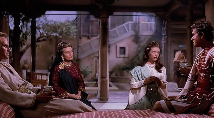 "Charlton Heston, Martha Scott, Cathy O'Donnell, Stephen Boyd | ""Ben Hur"" (1959)"