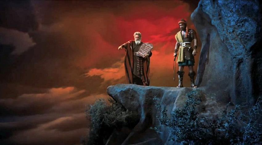 "Charlton Heston, John Derek | ""The Ten Commandments"" (1956)"