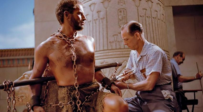 "Charlton Heston & Propman | ""The Ten Commandments"" (1956)"