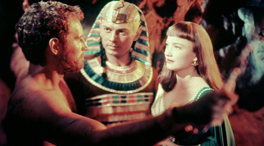"Charlton Heston, Yul Brynner, Anne Baxter | ""The Ten Commandments"" (1956) *"