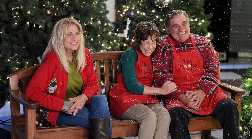 "Cindy Pickett, Mindy Sterling, Dan Lauria | ""Wrapped Up in Christmas"" (2017)"