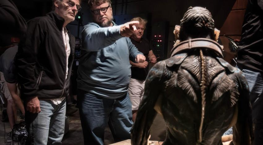 "Doug Jones, Dan Laustsen, Guillermo del Toro | ""The Shape of Water"" (2017)"