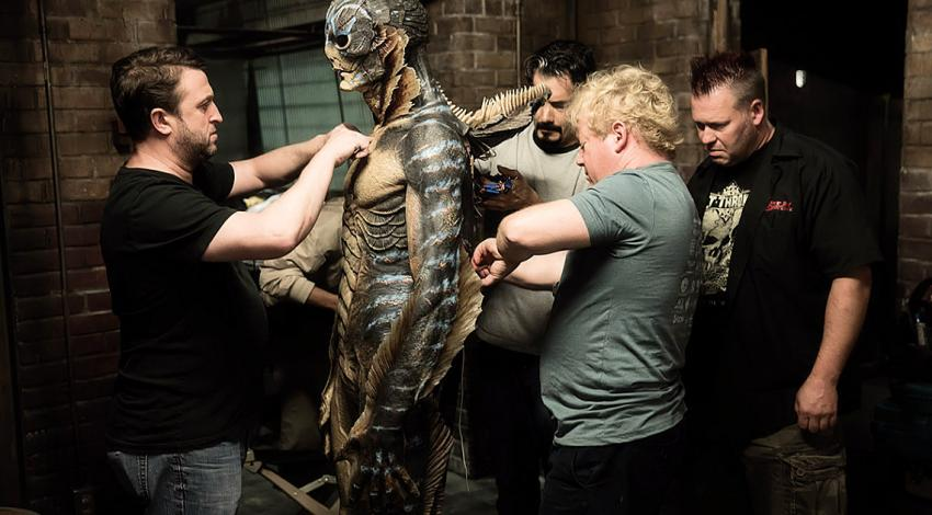 "Doug Jones, Shane Mahan, Sean Sansom, Jason Detheridge | ""The Shape of Water"" (2017) **"