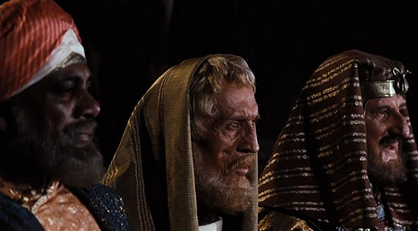 "Finlay Currie,  Richard Hale, Reginald Lal Singh | ""Ben Hur"" (1959)"