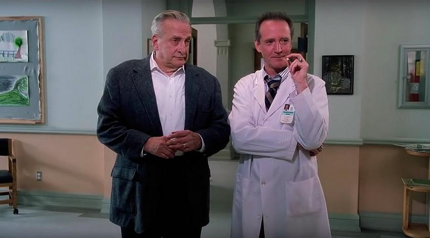 "George C. Scott, Scott Wilson | ""The Exorcist III"" (1990)"