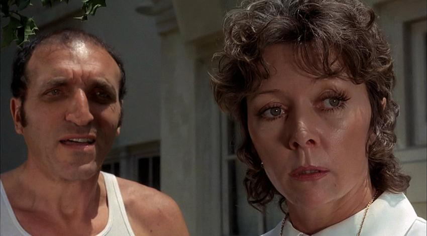 "Len Lesser, Gloria Grahame | ""Blood and Lace"" (1971)"