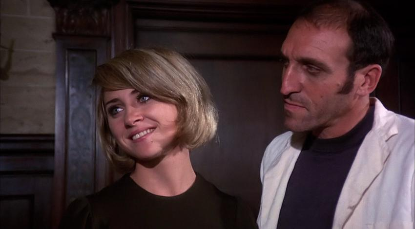 "Len Lesser, Melody Patterson | ""Blood and Lace"" (1971)"