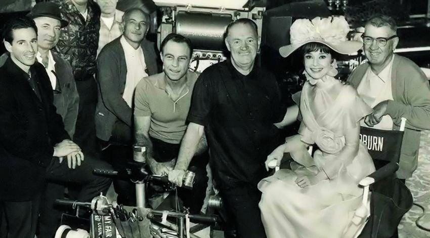 "Audrey Hepburn, Harry Stradling Sr., Frank Flanagan, Wally Meinardus, George R. Schrader, Chris Schwiebert, Roger Shearman | ""My Fair Lady"" (1964)"