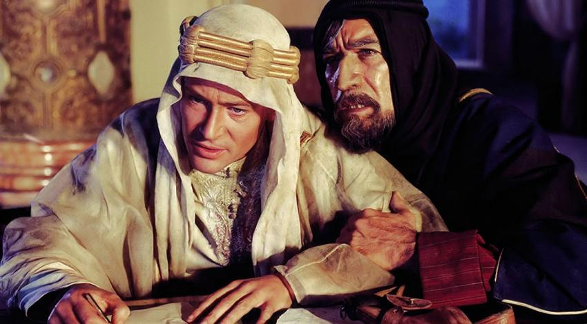 "Peter O'Toole, Anthony Quinn | ""Lawrence of Arabia"" (1962)"