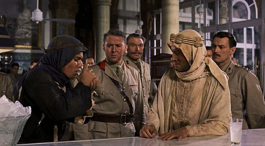 "Peter O'Toole, Jack Gwillim, Anthony Quinn | ""Lawrence of Arabia"" (1962)"