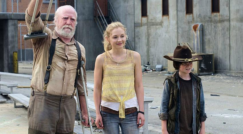 "Scott Wilson, Emily Kinney, Chandler Riggs | ""The Walking Dead"" (2010) [a]"