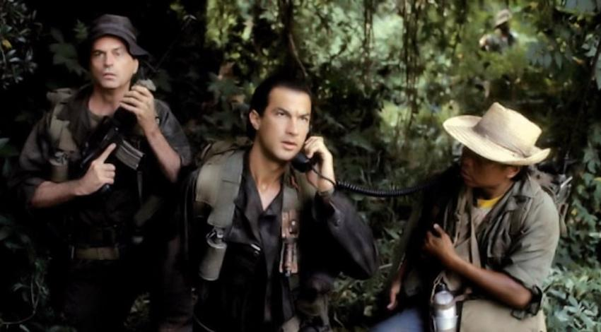 "Chelcie Ross, Steven Seagal, Metta Davis | ""Above the Law"" (1988)"