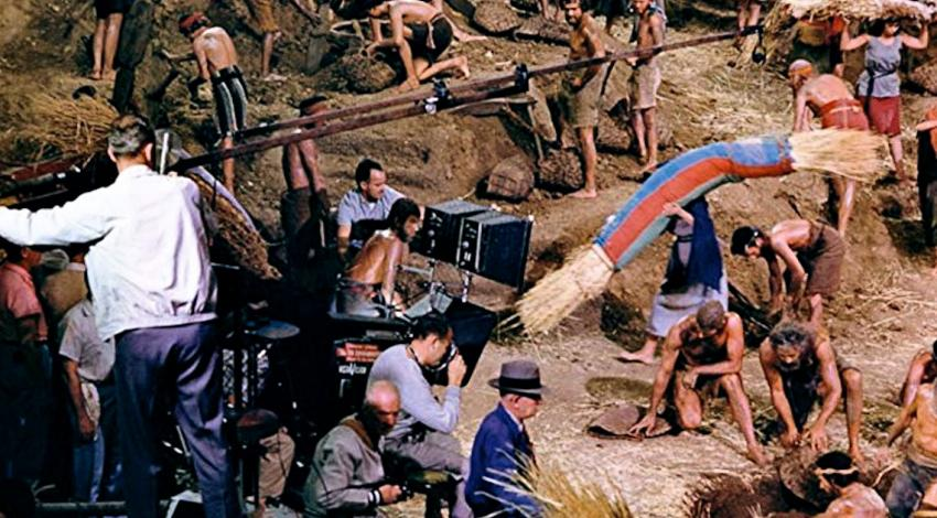"Production Still | ""The Ten Commandments"" (1956)"