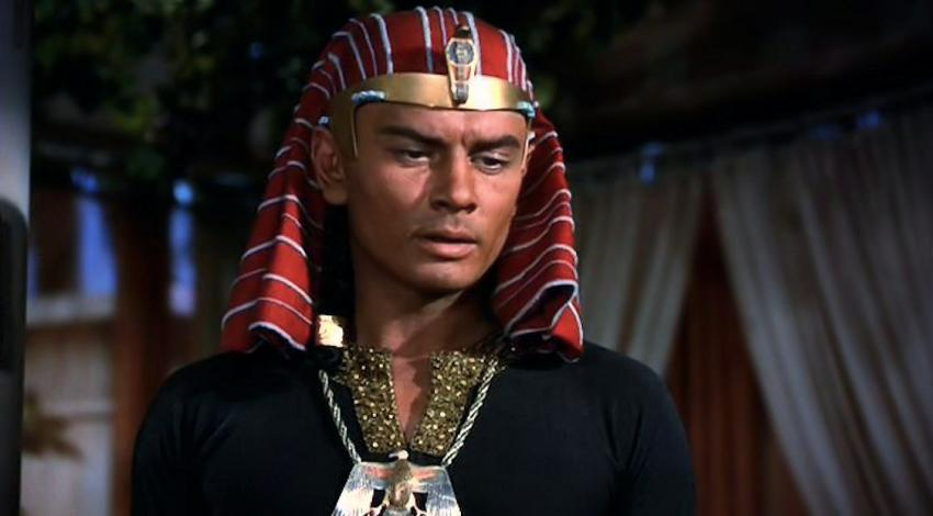 "Yul Brynner | ""The Ten Commandments"" (1956)"