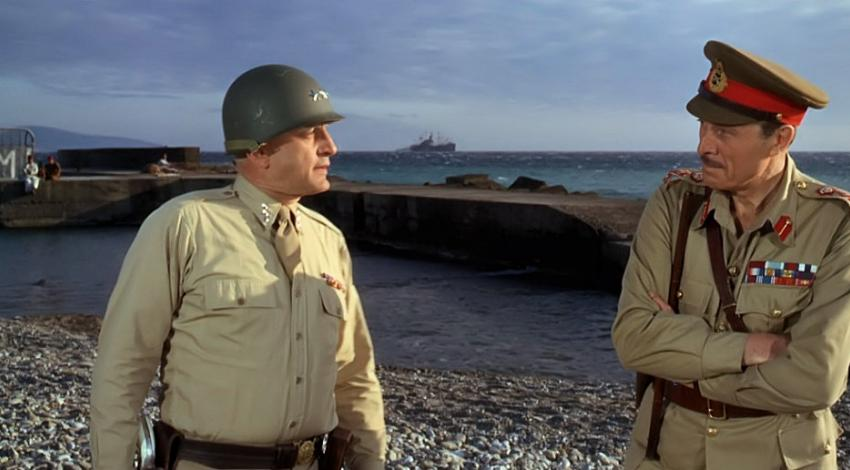 "George C. Scott, Jack Gwillim | ""Patton"" (1970)"